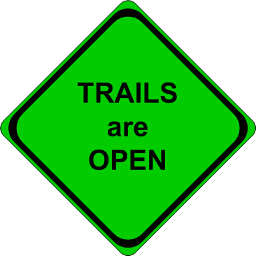 Trails are Open